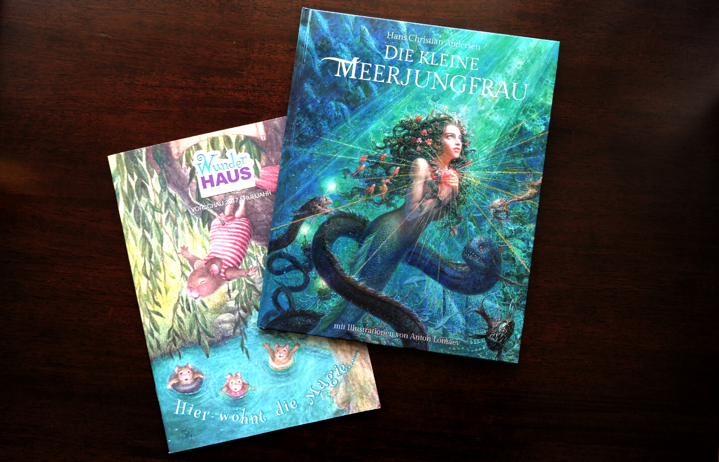 Cover und Katalog Wunderhaus Verlag