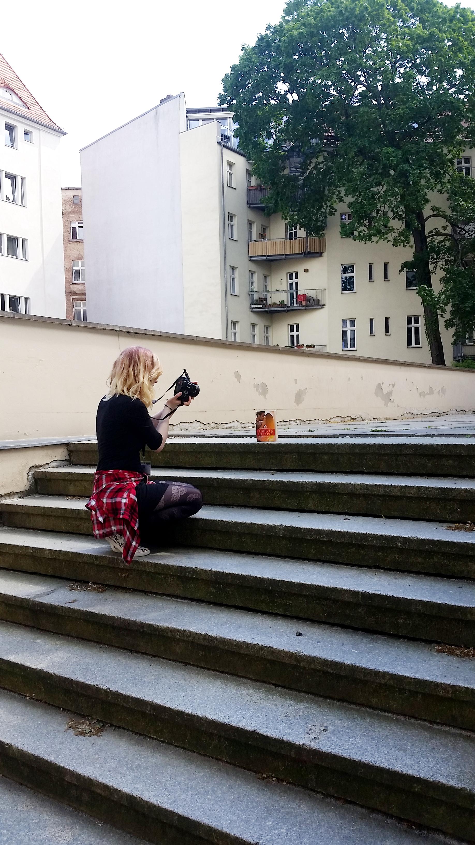annelovesbooks beim Instagram Bilder schießen